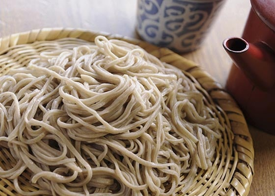 Shinsyu Soba (buckwheat) noodles